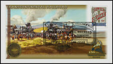 Transcontinental Railroad 2019 - 150th Anniv. Spike Stamp First Day Cover #529