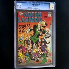 Green Lantern #66 (DC Comics 1969) 💥 CGC 9.6 NM+ 💥 HIGHEST GRADED! Comic