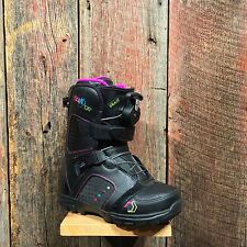 NEW NORTHWAVE WOMENS GRACE BLACK SNOWBOARD BOOTS SIZE 9.5