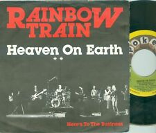 "RAINBOW TRAIN / HANS VERMEULEN - HEAVEN ON EARTH ( DUTCH 7""PS )  1978"