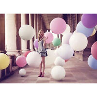 "10 Pcs LARGE 3FT LATEX BALLOON 36"" INCHES Wedding Party Decoration Birthday New"