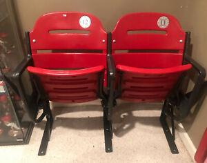 St. Louis Cardinals Busch Stadium lll Game Used Seats MLB HOLO Pujols Molina 3