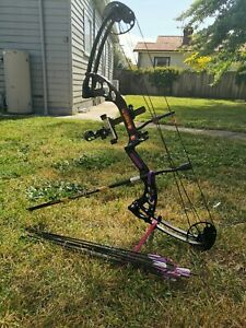 PSE FEVER COMPOUND BOW KIT 40-60LBS