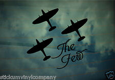 Remembering The Few Car Decal/Sticker  **Spitfire**RAF**Battle of Britain**