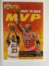 1992 1993 UPPER DECK MICHAEL JORDAN CARD #67 MVP BACK TO BACK