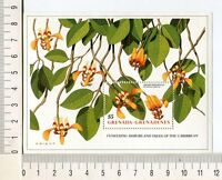 36759) Grenada Grenadines 1989 MNH Flowering Tree S/S