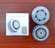 CLARISONIC Normal Head & Cap Retail Twin Pack New in Box
