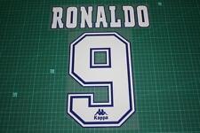 Barcelone 96/97 #9 Ronaldo Homekit Nameset Printing