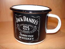 PLAQUE EMAILLEE TASSE cafe mug WHISKY JACK DANIEL S whiskey enameled COFFEE CUP