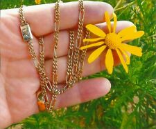 """SOLID 14K GOLD BIG CHAIN 22"""" NECKLACE MAN OR WOMAN"""