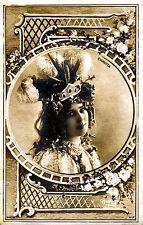 A4 Vintage Victorian/Edwardian Actresses & Beauties Art Nouveau Print 15