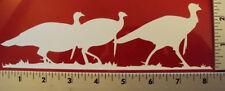 Turkey Hunting window sticker decal NWTF Corn Hole Game