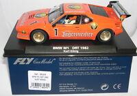 qq FLY 88269 SLOT CAR BMW M1 #1 DRT 1982 KURT KÖNIG JAGERMEISTER