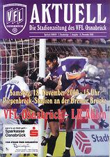 II BL 2000/01 VfL Osnabrück - LR Ahlen, 18.11.2000