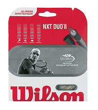 WILSON NXT DUO II tennis racquet string - NXT / Luxilon Adrenaline - Reg $18