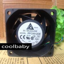 Wholesale DELTA PFC0612DE 6CM 60MM 6038 DC 12V 1.68A server inverter Cooling FAN