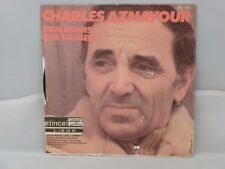 Charles Aznavour – Être                              Barclay – 62603