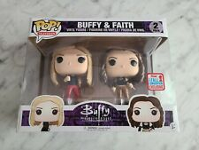 Funko Pop! Tv Buffy and Faith (Nycc / Boxlunch Exclusive / Vaulted) 2-pack