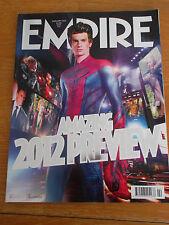 EMPIRE MAGAZINE 272 FEB 2012 MUPPETS JOHN CARTER RALPH FIENNES DANIEL RADCLIFFE