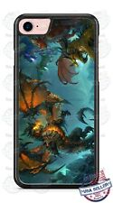 Fire Breathing Legendary Dragon Love Phone Case For iPhone Samsung S20 LG Google