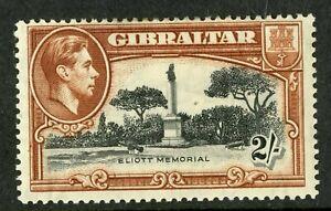 Gibraltar   1938-49  Scott # 115a  Mint Hinged