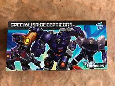 Transformers Generations Specialist Decepticons Set SmartPhone Earphone Pluggy