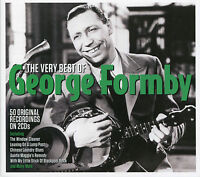 THE VERY BEST OF GEORGE FORMBY - 2 CD BOX SET - LEANING ON THE LAMP POST & MORE
