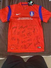 Corea Para Mujer Camisa Casa 2015, XL Oficial Fútbol Nike. Rojo Adultos superior sólo