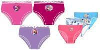 NEW Girls Frozen Disney Briefs Knickers Underwear Elsa Anna 3 Pack Set Ages 2-8