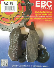 EBC/FA215/2 Brake Pads (Rear) - Triumph Daytona 750/900, Sprint/Tiger/Trophy 900