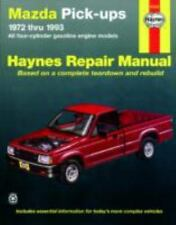 Mazda B1600 Pickups 1972-1993 : All Gasoline Engine Models Haynes Repair Manual