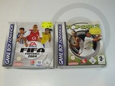 Nintendo Advance Game 2 x Various Sport BOX USED BUT GOOD