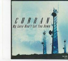 (EY503) Curran, My Love Won't Let You Down - DJ CD