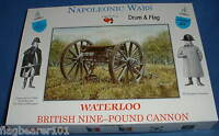 A CALL TO ARMS SET #23. BRITISH NINE POUND CANNON. WATERLOO. 1/32 SCALE.