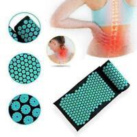 Body Massager Cushion Mat Shakti Relieve Acupressure Yoga. Pil H1P2 Set T7B7