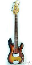 Fender Vintage 1965 P Bass in Sunburst with Hard Case - 65-PBASS-SB