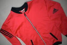 Adidas Trainings Jacke Sport Jacket Jogging Fitness Neon Rot Track Top Kind 152