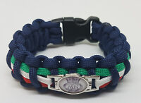 The Merchant Navy (TMN) Badged Survival Bracelet Tactical Edge.