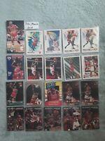 Michael Jordan 56 Card Investment Lot 1991 To 1994 Fleer, Upper Deck, Skybox