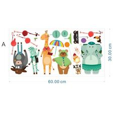 Zooyoo New Design cartoon animal wall sticker for Home Decor
