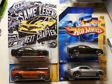 Hot Wheels Camaro CONCEPT Lot 4 ZL1 50TH NEW MODELS FIRST EDITIONS BLACK SILVER