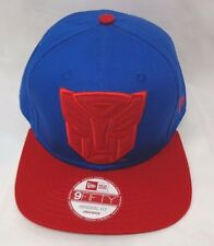 Transformers Hero Fill Men's New Era Original Fit Snapback Cap Hat