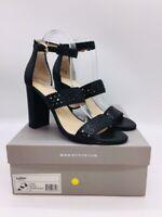 Botkier Women's Gemi Slingback Ankle Strap Sandals Black US 9M