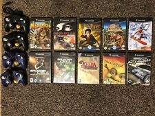 Game Cube Spiele mit 4 Controller_Zelda, Need for Speed, Splinter Cell, Harry P.