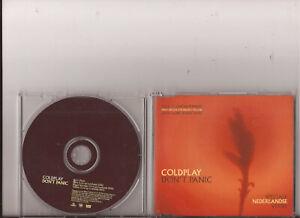 Coldplay - Don`t Panic + 3 Live Tracks ( Dutch  CD - Ex )