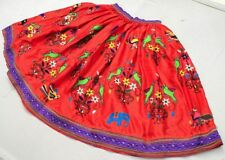 Rabari Ethnic Gypsy Embroidery Banjara Tribal Boho India Kuchi Belly Dance Skirt