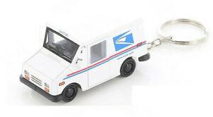 USPS LLV United States Postal Service Mail Diecast Truck 1:72 KEYCHAIN 2.5 inch