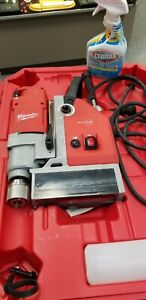 """Milwaukee 1-5/8"""" Compact Electromagnetic Drill Press."""
