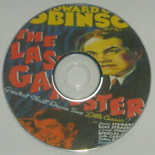 FILM NOIR 172: THE LAST GANGSTER 1937 Ludwig, Edward G. Robinson, James Stewart