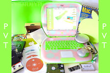 """Apple iBook Clamshell G3 KEY LIME PINK 467 """"PVT"""" Prototype SSD Dual OS ⭐️⭐️⭐️⭐️⭐"""